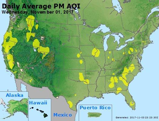 Peak Particles PM2.5 (24-hour) - https://files.airnowtech.org/airnow/2017/20171101/peak_pm25_usa.jpg