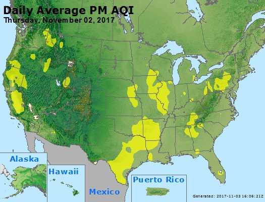 Peak Particles PM2.5 (24-hour) - https://files.airnowtech.org/airnow/2017/20171102/peak_pm25_usa.jpg
