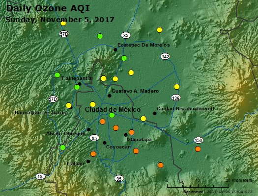 Peak Ozone (Mexico) - https://files.airnowtech.org/airnow/2017/20171105/peak_ozone_mexico_city.jpg