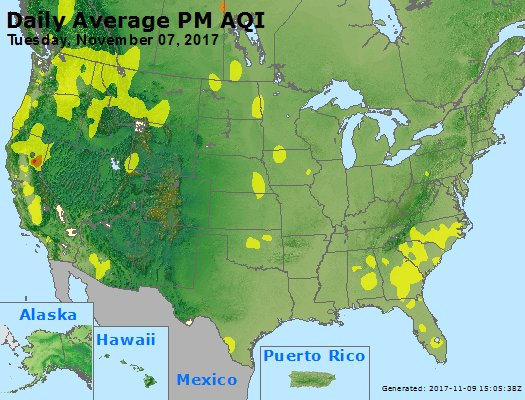 Peak Particles PM2.5 (24-hour) - https://files.airnowtech.org/airnow/2017/20171107/peak_pm25_usa.jpg