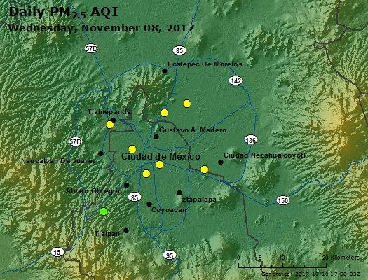 Peak Particles PM2.5 (24-hour) - https://files.airnowtech.org/airnow/2017/20171108/peak_pm25_mexico_city.jpg
