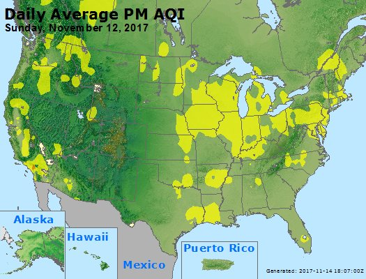 Peak Particles PM2.5 (24-hour) - https://files.airnowtech.org/airnow/2017/20171112/peak_pm25_usa.jpg
