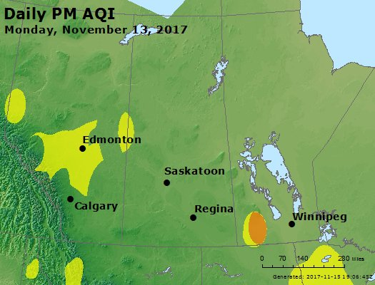 Peak Particles PM2.5 (24-hour) - https://files.airnowtech.org/airnow/2017/20171113/peak_pm25_central_canada.jpg