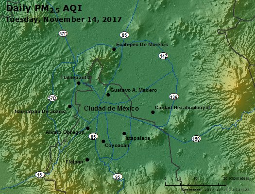 Peak Particles PM2.5 (24-hour) - https://files.airnowtech.org/airnow/2017/20171114/peak_pm25_mexico_city.jpg