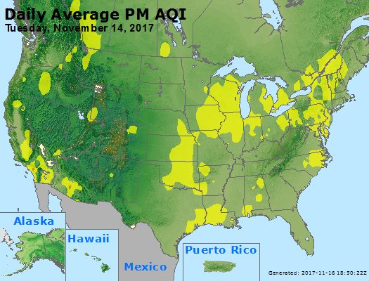 Peak Particles PM2.5 (24-hour) - https://files.airnowtech.org/airnow/2017/20171114/peak_pm25_usa.jpg