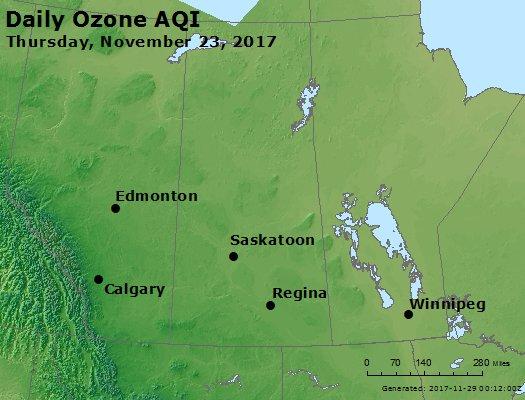 Peak Ozone (8-hour) - https://files.airnowtech.org/airnow/2017/20171123/peak_o3_central_canada.jpg