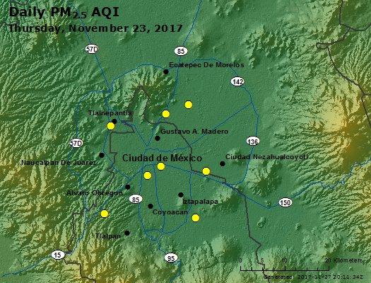 Peak Particles PM2.5 (24-hour) - https://files.airnowtech.org/airnow/2017/20171123/peak_pm25_mexico_city.jpg