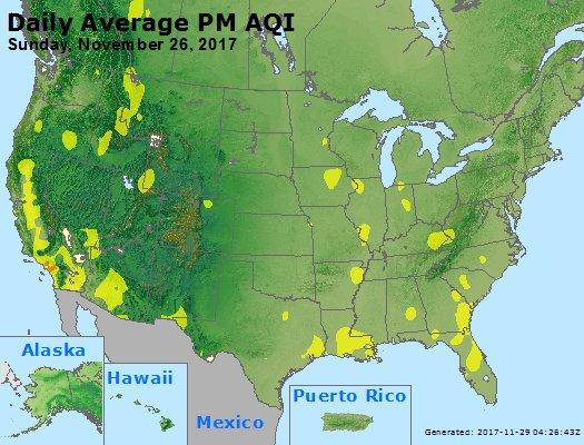 Peak Particles PM2.5 (24-hour) - https://files.airnowtech.org/airnow/2017/20171126/peak_pm25_usa.jpg