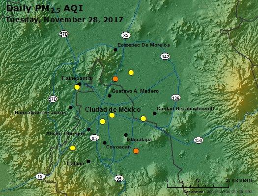 Peak Particles PM2.5 (24-hour) - https://files.airnowtech.org/airnow/2017/20171128/peak_pm25_mexico_city.jpg