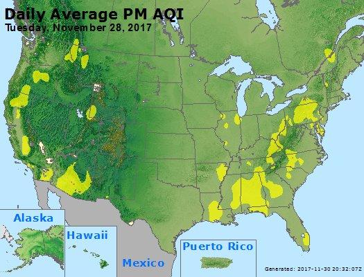 Peak Particles PM2.5 (24-hour) - https://files.airnowtech.org/airnow/2017/20171128/peak_pm25_usa.jpg