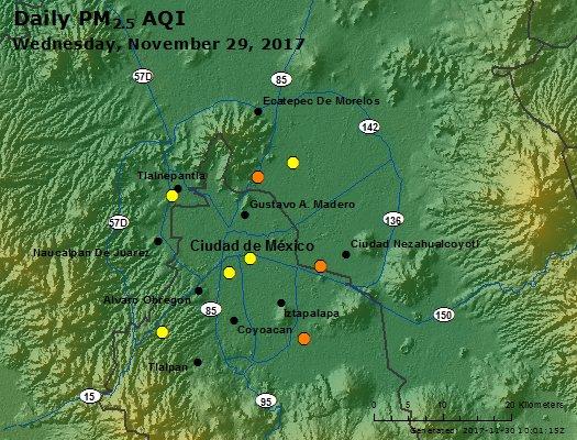 Peak Particles PM2.5 (24-hour) - https://files.airnowtech.org/airnow/2017/20171129/peak_pm25_mexico_city.jpg