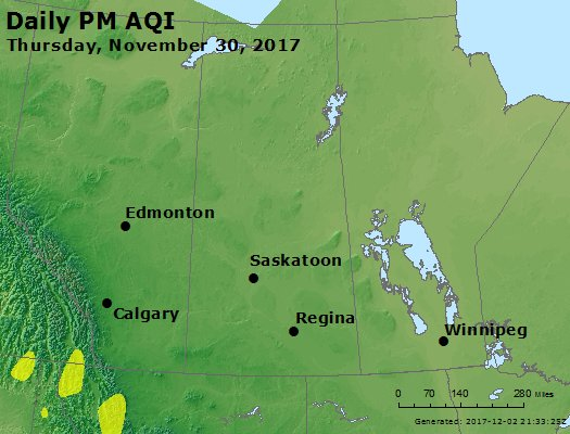 Peak Particles PM2.5 (24-hour) - https://files.airnowtech.org/airnow/2017/20171130/peak_pm25_central_canada.jpg
