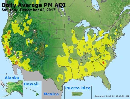 Peak Particles PM2.5 (24-hour) - https://files.airnowtech.org/airnow/2017/20171202/peak_pm25_usa.jpg