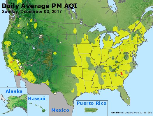 Peak Particles PM2.5 (24-hour) - https://files.airnowtech.org/airnow/2017/20171203/peak_pm25_usa.jpg