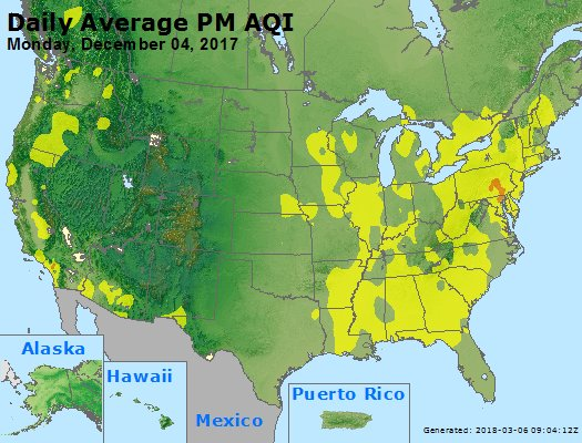Peak Particles PM2.5 (24-hour) - https://files.airnowtech.org/airnow/2017/20171204/peak_pm25_usa.jpg