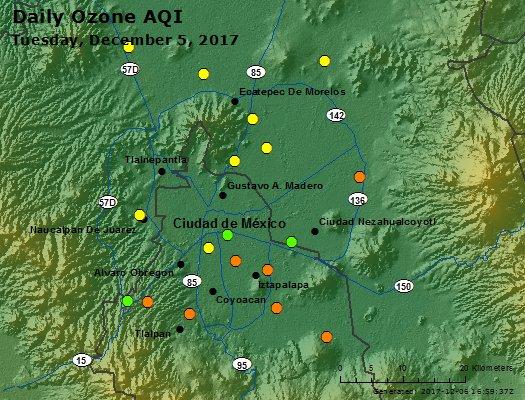 Peak Ozone (Mexico) - https://files.airnowtech.org/airnow/2017/20171205/peak_ozone_mexico_city.jpg