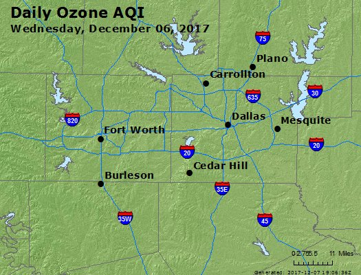 Peak Ozone (8-hour) - https://files.airnowtech.org/airnow/2017/20171206/peak_o3_dallas_tx.jpg