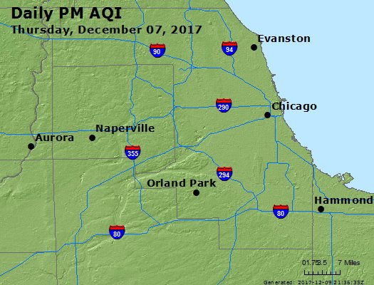 Peak Particles PM2.5 (24-hour) - https://files.airnowtech.org/airnow/2017/20171207/peak_pm25_chicago_il.jpg