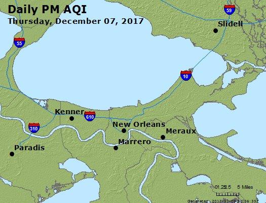 Peak Particles PM2.5 (24-hour) - https://files.airnowtech.org/airnow/2017/20171207/peak_pm25_neworleans_la.jpg