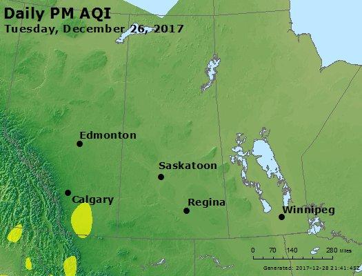 Peak Particles PM2.5 (24-hour) - https://files.airnowtech.org/airnow/2017/20171226/peak_pm25_central_canada.jpg