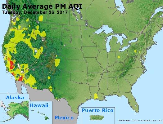 Peak Particles PM2.5 (24-hour) - https://files.airnowtech.org/airnow/2017/20171226/peak_pm25_usa.jpg