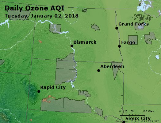 Peak Ozone (8-hour) - https://files.airnowtech.org/airnow/2018/20180102/peak_o3_nd_sd.jpg