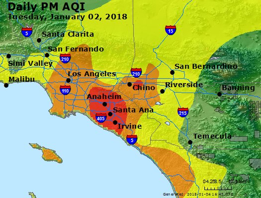 Peak Particles PM2.5 (24-hour) - https://files.airnowtech.org/airnow/2018/20180102/peak_pm25_losangeles_ca.jpg