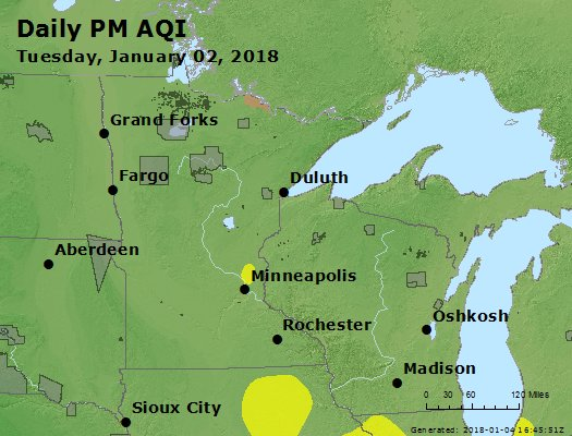 Peak Particles PM2.5 (24-hour) - https://files.airnowtech.org/airnow/2018/20180102/peak_pm25_mn_wi.jpg