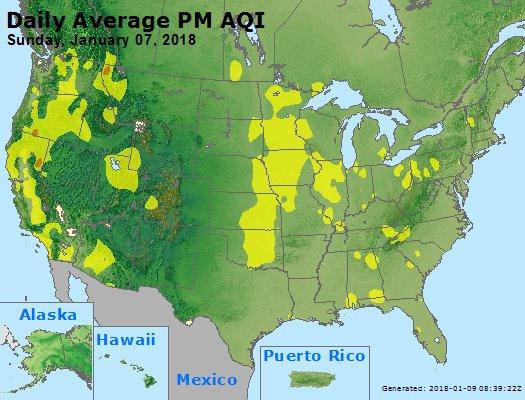 Peak Particles PM2.5 (24-hour) - https://files.airnowtech.org/airnow/2018/20180107/peak_pm25_usa.jpg