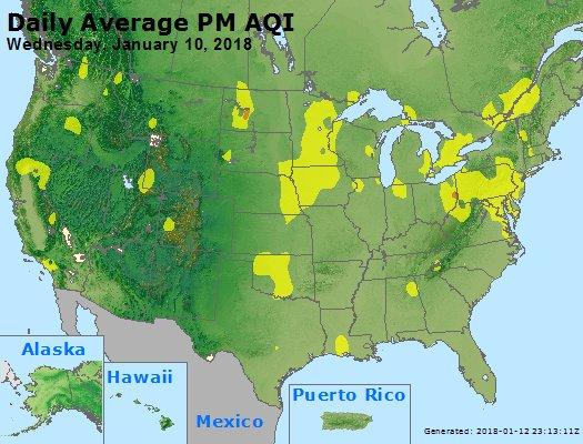 Peak Particles PM2.5 (24-hour) - https://files.airnowtech.org/airnow/2018/20180110/peak_pm25_usa.jpg