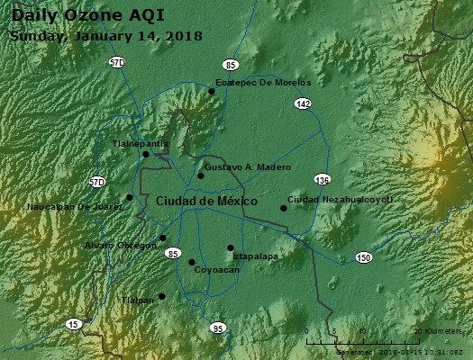 Peak Ozone (Mexico) - https://files.airnowtech.org/airnow/2018/20180114/peak_ozone_mexico_city.jpg