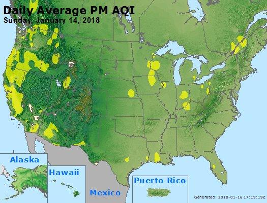 Peak Particles PM2.5 (24-hour) - https://files.airnowtech.org/airnow/2018/20180114/peak_pm25_usa.jpg