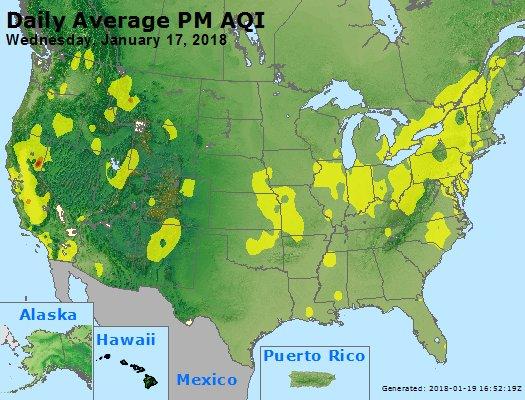 Peak Particles PM2.5 (24-hour) - https://files.airnowtech.org/airnow/2018/20180117/peak_pm25_usa.jpg