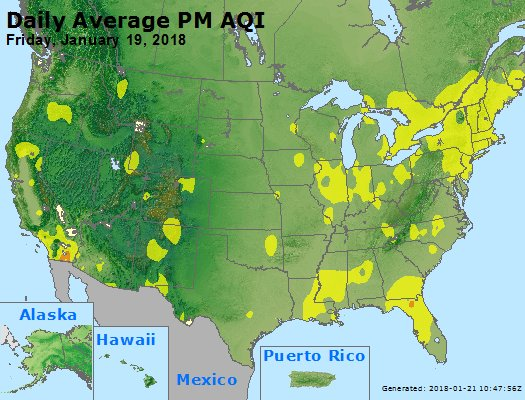 Peak Particles PM2.5 (24-hour) - https://files.airnowtech.org/airnow/2018/20180119/peak_pm25_usa.jpg