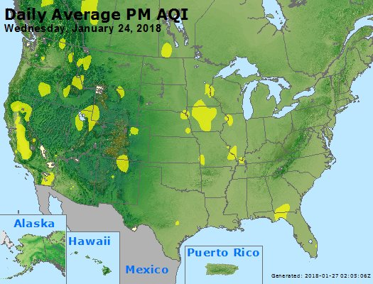 Peak Particles PM2.5 (24-hour) - https://files.airnowtech.org/airnow/2018/20180124/peak_pm25_usa.jpg