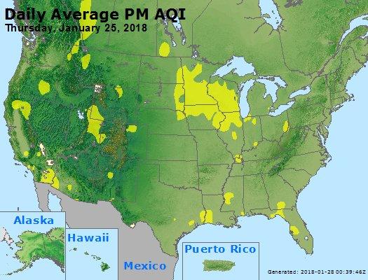 Peak Particles PM2.5 (24-hour) - https://files.airnowtech.org/airnow/2018/20180125/peak_pm25_usa.jpg
