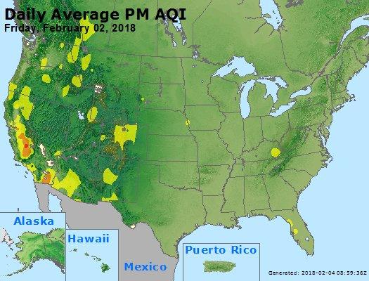 Peak Particles PM2.5 (24-hour) - https://files.airnowtech.org/airnow/2018/20180202/peak_pm25_usa.jpg