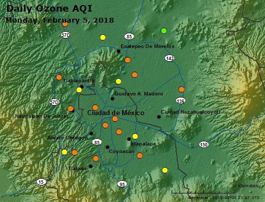Peak Ozone (Mexico) - https://files.airnowtech.org/airnow/2018/20180205/peak_ozone_mexico_city.jpg