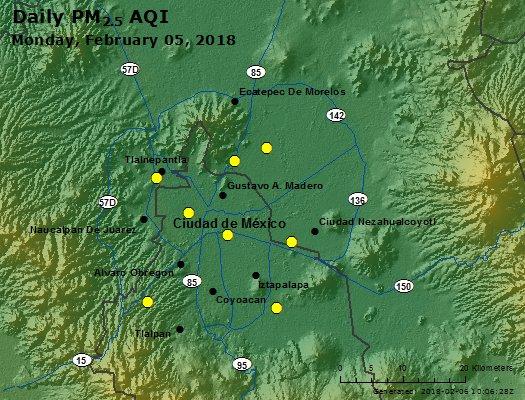 Peak Particles PM2.5 (24-hour) - https://files.airnowtech.org/airnow/2018/20180205/peak_pm25_mexico_city.jpg