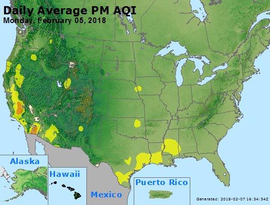 Peak Particles PM2.5 (24-hour) - https://files.airnowtech.org/airnow/2018/20180205/peak_pm25_usa.jpg