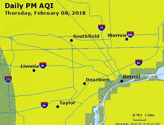 Peak Particles PM2.5 (24-hour) - https://files.airnowtech.org/airnow/2018/20180208/peak_pm25_detroit_mi.jpg