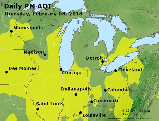 Peak Particles PM2.5 (24-hour) - https://files.airnowtech.org/airnow/2018/20180208/peak_pm25_mi_in_oh.jpg