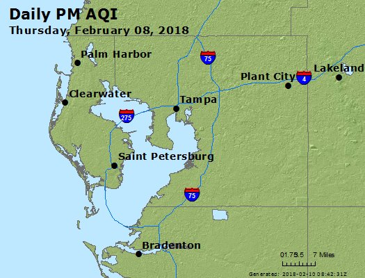 Peak Particles PM2.5 (24-hour) - https://files.airnowtech.org/airnow/2018/20180208/peak_pm25_tampa_fl.jpg