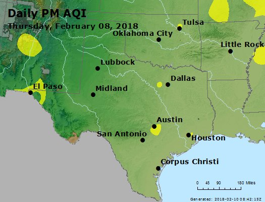 Peak Particles PM2.5 (24-hour) - https://files.airnowtech.org/airnow/2018/20180208/peak_pm25_tx_ok.jpg