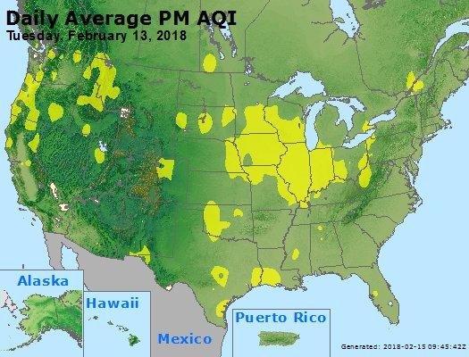 Peak Particles PM2.5 (24-hour) - https://files.airnowtech.org/airnow/2018/20180213/peak_pm25_usa.jpg