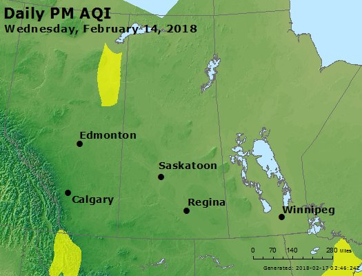 Peak Particles PM2.5 (24-hour) - https://files.airnowtech.org/airnow/2018/20180214/peak_pm25_central_canada.jpg