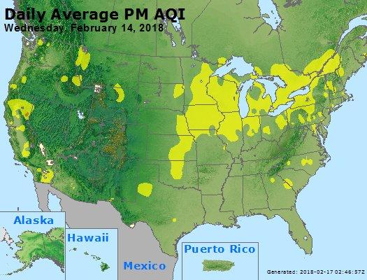 Peak Particles PM2.5 (24-hour) - https://files.airnowtech.org/airnow/2018/20180214/peak_pm25_usa.jpg