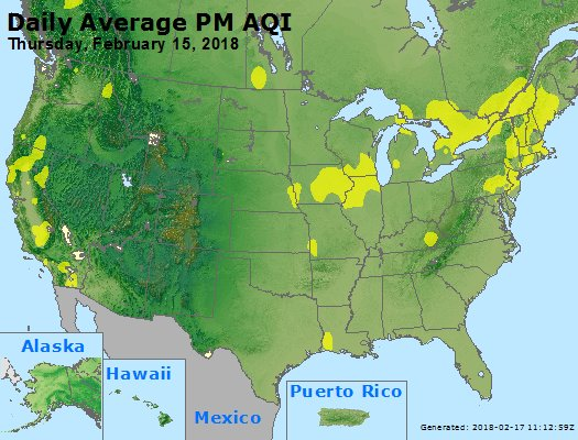 Peak Particles PM2.5 (24-hour) - https://files.airnowtech.org/airnow/2018/20180215/peak_pm25_usa.jpg