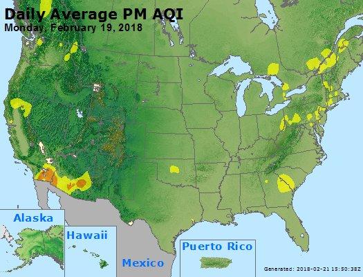 Peak Particles PM2.5 (24-hour) - https://files.airnowtech.org/airnow/2018/20180219/peak_pm25_usa.jpg