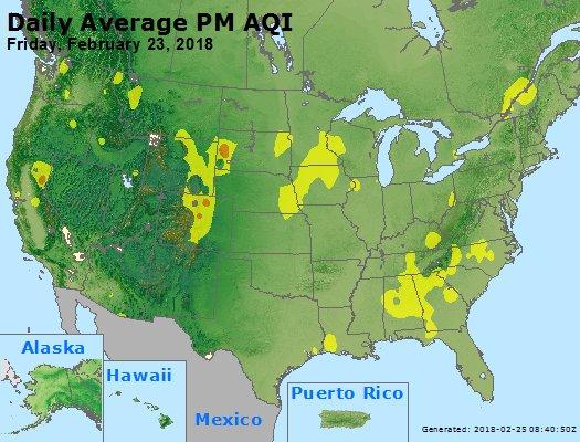 Peak Particles PM2.5 (24-hour) - https://files.airnowtech.org/airnow/2018/20180223/peak_pm25_usa.jpg